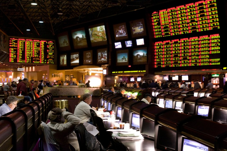 Proposition bets for Super Bowl XLV are posted at the race and sports book in the Las Vegas Hilton